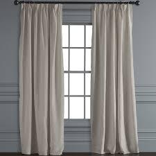 window treatments. Modren Window Belgian Linen Pinch Pleat Drape  In Window Treatments 2