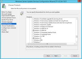 WSUS difference between Windows 10 and Windows 10 GDR-DU Products ...