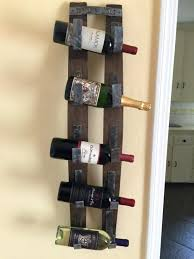 chic rustic wine racks mango wood handcrafted rack with drawers wall mounted bottle holder soap