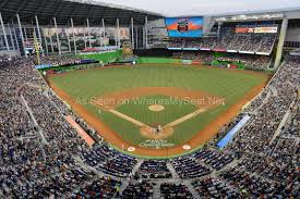 Marlins Stadium Seating Chart Marlins Park Tickets Seating Charts And More Marlins Park