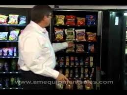 Ams Vending Machine Manual Custom AMS Snack Machines YouTube