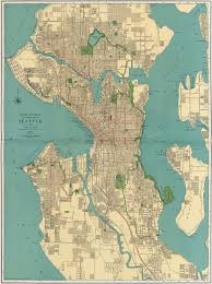rand mcnally's street map of seattle ()