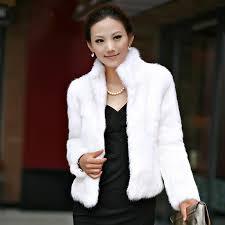 winter womens luxury rabbit fur coat thick warm faux fur jacket long sleeve las fluffy coat white black female outerwear a4 a mariuszkobiela me