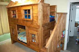 log loft bed with desk bedroom large size white rustic cabin bunk bed projects bed log log loft bed with desk