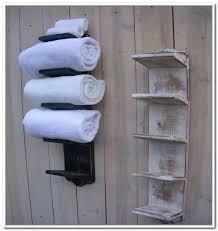 diy towel storage. Bathroom Towel Storage Uk Thedancingparent Com Intended For Wall Mounted Designs 8 Diy A