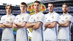 تشكيلة ريال مدريد 2017