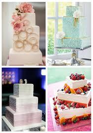 53 Square Wedding Cakes That Wow Happyweddcom