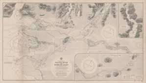 Burrard Inlet Depth Chart 1860 Fraser River And Burrard Inlet