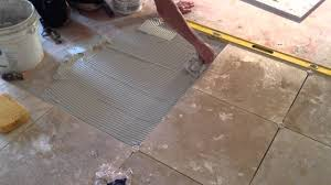 HOW TO INSTALL TRAVERTINE FLOOR TILE PRESENTED BY ASAP PLUMBING AND TILE  INSTALLERS 904 346 1266