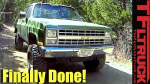 1985 Chevy K10 Big Green Truck Gets a Not So Extreme Makeover ...