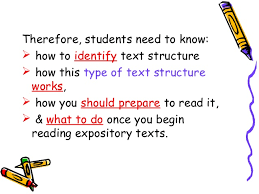 What Is Expository Text Expository Text In Reading Power Point