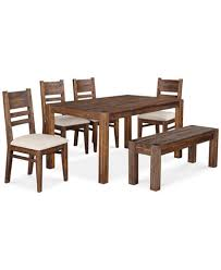 black dining room furniture sets. Avondale 6-Pc. Dining Room Set, Created For Macy\u0027s, (60. Furniture Black Sets