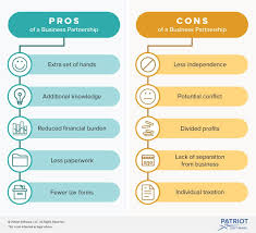 Pros And Cons Of A Partnership Considerations Before