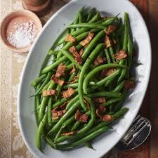 Stovetop Green Beans With Bacon