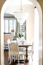transitional kitchen nook remodel styled for spring breakfast nook chandelier height