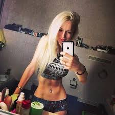 valeria lukyanova the human barbie snapped this photo without her usual doll