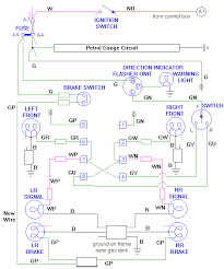 eliminating the turn signal relay conversion diagram to delete a turn signal relay