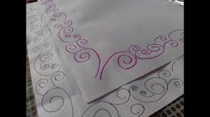 Amazing Design How To Draw Simple Border Designs For Project Files Quick And Easy