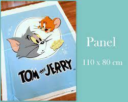 Wolke 7 stoffe - Baumwollstoff - Tom & Jerry - Panel