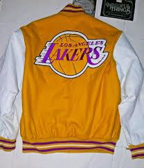 Jh Design Nba Jackets Jh Design Los Angeles Lakers Jacket Reversible Gold White