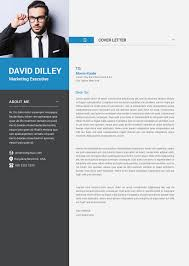 Free Professional Cv Template Cover Letter For Marketing