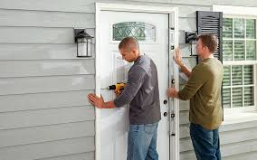 how to install an exterior door the