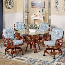 dining chairs on wheels. Kitchen Table Chairs W Casters Sets With Swivel Without Rolling Caster Dining On Wheels N