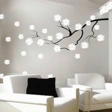Small Picture Contemporary Branch Flowers Vinyl Wall Decal Trendy Wall Designs