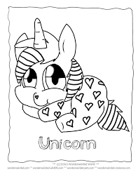 Small Picture Christmas Unicorn Coloring Pages Coloring Pages