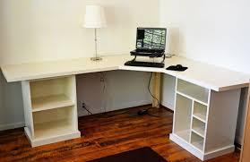 diy corner desk ideas adorable see 15 diy l shaped for your home office