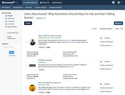 how to the best influencers for your company act on blog buzzsumo