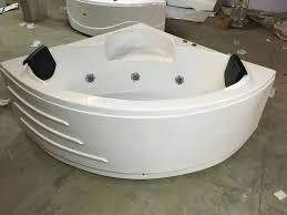 volga white ivory corner bathtubs