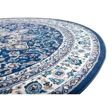 little known ways to round rug turquoise