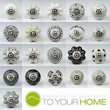 knobs and handles for furniture.  Knobs Image Is Loading BlackWhiteSilverGreyCeramicDoorKnobsHandles To Knobs And Handles For Furniture E