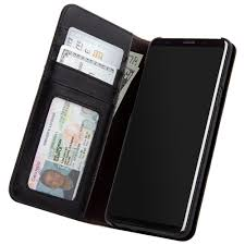 samsung galaxy s9 plus case mate black folio wallet case