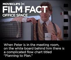 Planning To Plan Flow Chart Office Space Office Space Film Fact Favourite Films Film Facts