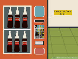 Canteen Vending Machine Hack Interesting How To Hack A Coke Machine 48 Steps With Pictures WikiHow