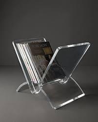 Acrylic Magazine Holder For Treadmill Stunning Picturesque Acrylic Magazine Holder On Interlude Home Versa Rack