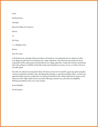 appeal letter for college appeal letter for college admission  appeal