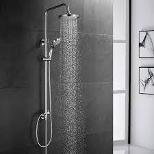 Bonade Duschsystem Regendusche Duschsäule Ohne Armatur Handbrause Mit 3 Strahlarten Kupfer Duschset Mit Wandhalterung Duschkopf Für Bad Badewanne