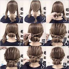 Very Easy Cute Hairstyles Easy Hope This Works Out Quick Morning Hair O H A I R