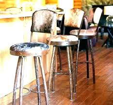 faux leather bar stools red with back arms wonderful kitchen industrial stool rustic s