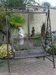 Small Picture WANT Metal Victorian Design Swinging Hammock Garden Swing