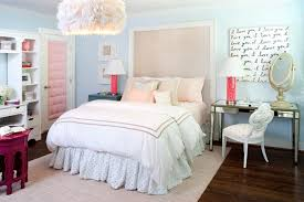ideas light blue bedrooms pinterest: pink and blue teen bedroom contemporary girl  s room kristin