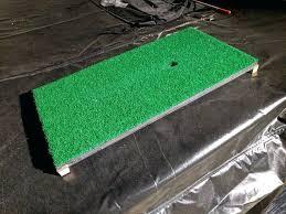 diy golf simulator divot action mat golf simulator forum