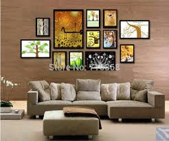 multi picture frame wall art