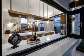 fabulous folding kitchen windows design for a practical dining bar outside