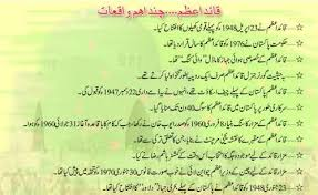 youme quaid i azam day essay speech in urdu english  millat ka passban hai muhammad ali jinnah events