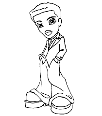 Small Picture Bratz Coloring Pages Free Coloring Home
