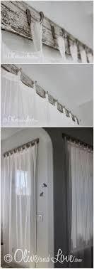Diy Wood Valance Best 25 Rustic Window Treatments Ideas On Pinterest Rustic
